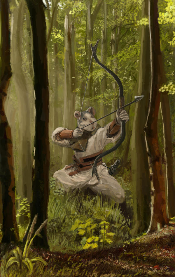 Ratman archer by Fabianparente