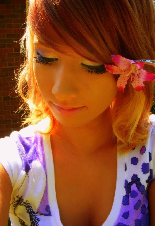 flower girl by jelloXstock