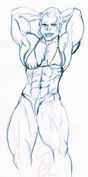 Abs pose practice