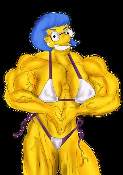 Luann Van Houten-muscle