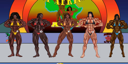 QUEEN OF AFRICA START - GROUP A LATS SPREAD