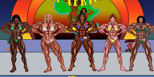 QUEEN OF AFRICA START - GROUP B LATS SPREAD