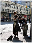 Steam Punk Busker by Ehmery