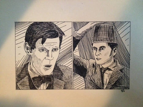 11 Meets 10 - Doctor Who 50th Anniversary