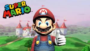 Mario 3d Render 1