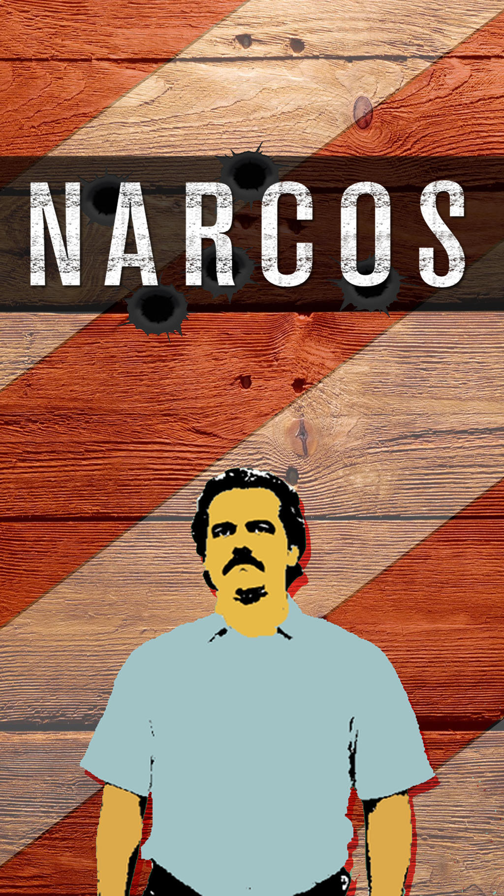 Narcos wallpaper v.2 by Puebloz on