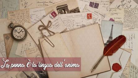 La penna e' la lingua dell'anima by Puebloz