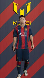 Messi10 Wallpaper by Puebloz
