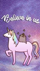 Believe in Us! Wallpaper by Puebloz