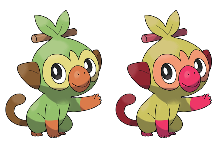Grookey Shiny By Gik17 On Deviantart You can find grookey in the following locations: grookey shiny by gik17 on deviantart