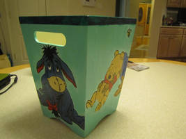 Winnie the Pooh wastebasket by DreamBig20761