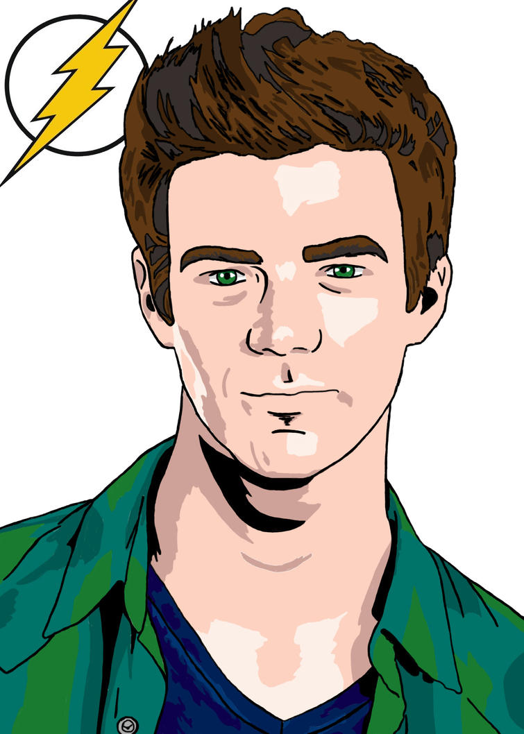 Grant Gustin as the Flash by DreamBig20761