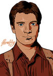 Nathan Fillion as Captain Mal