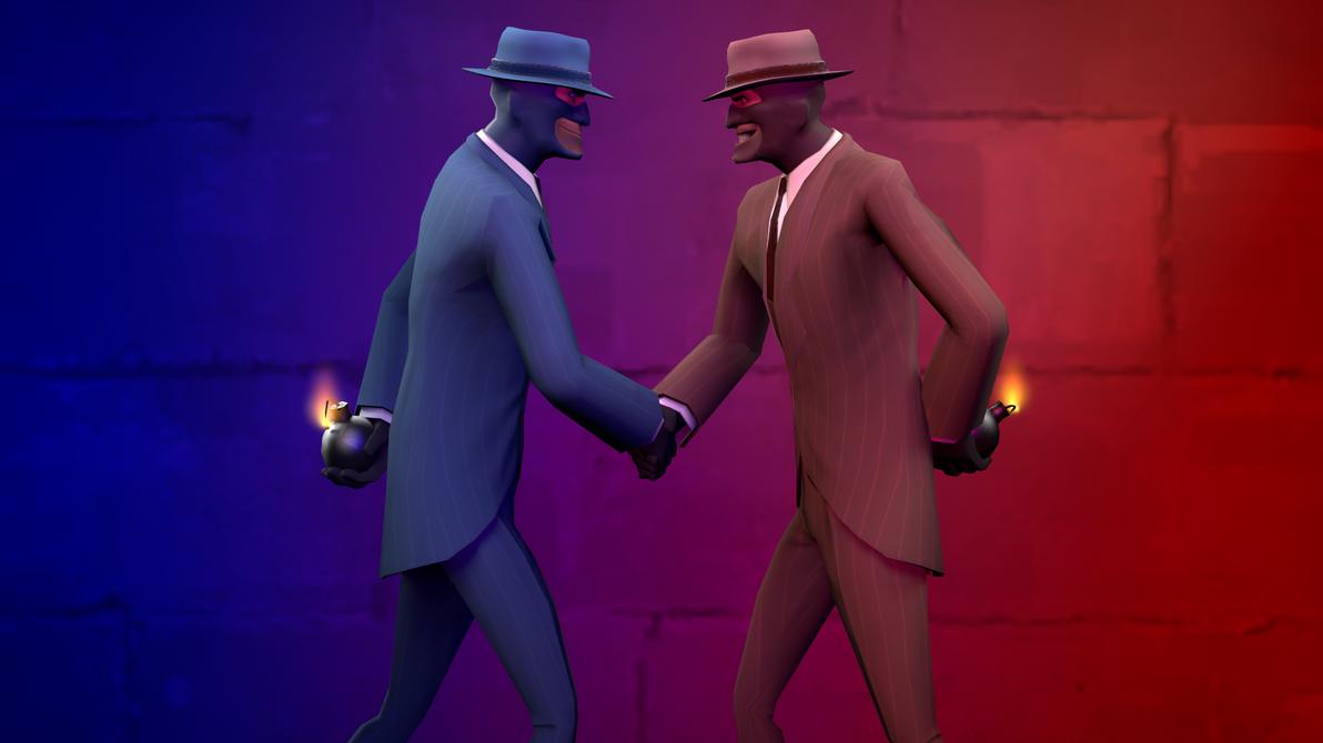Spy vs. Spy by Cronus1066
