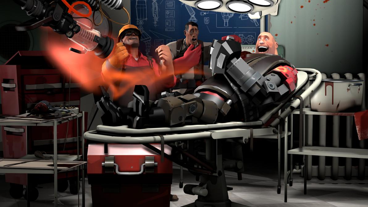 Cyborg Heavy by Cronus1066