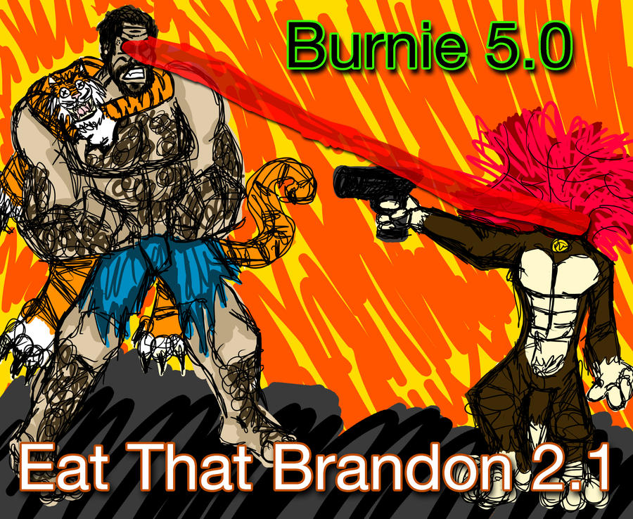 burnie_burns_vs_gun_dog_by_invisiblecorp