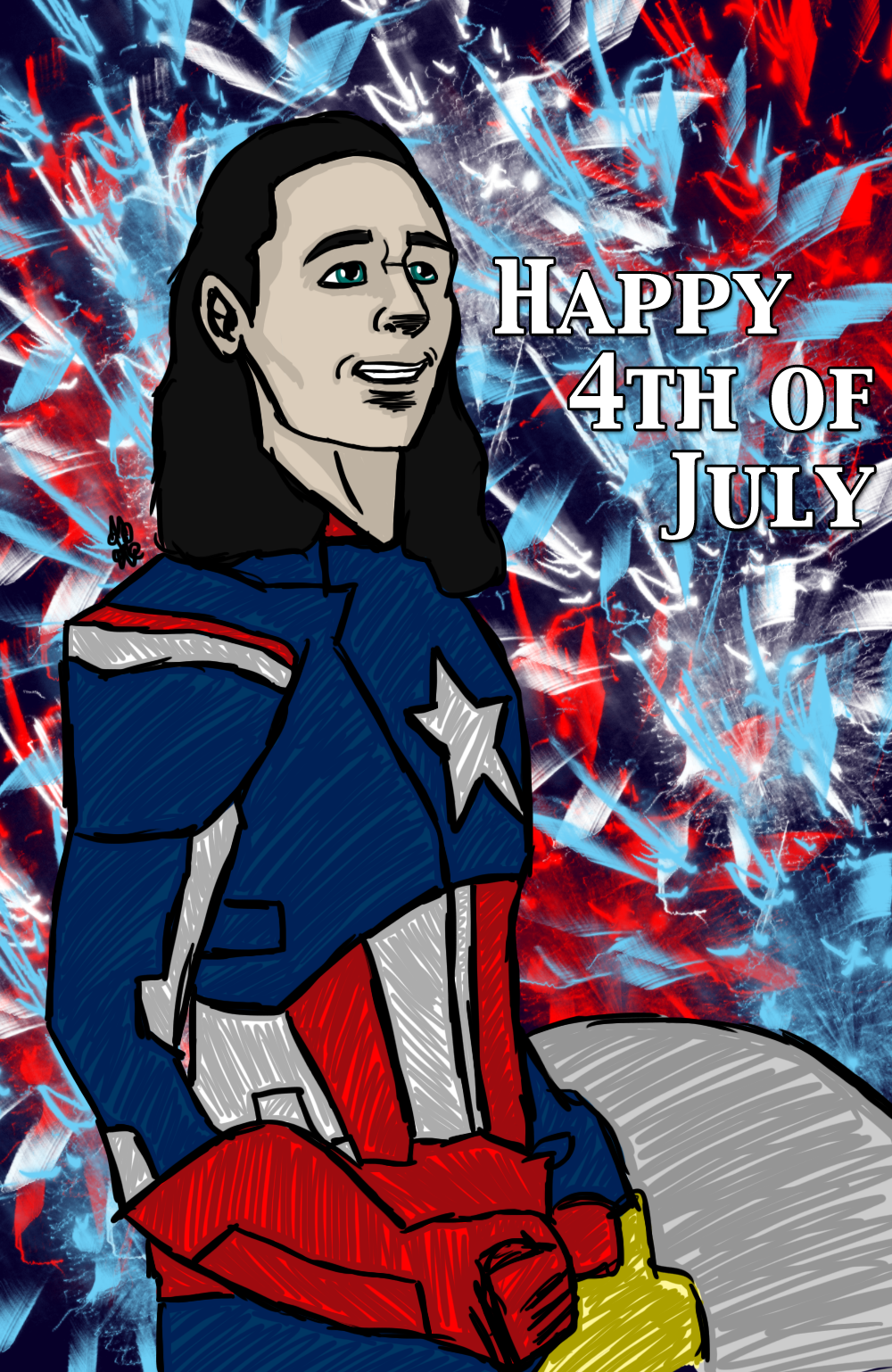 Happy 4th of July by InvisibleCorpseGirl