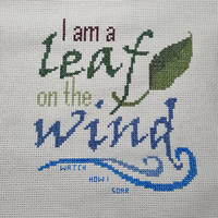 I am a leaf in the wind - Cross Stitch by OneSavvySiren