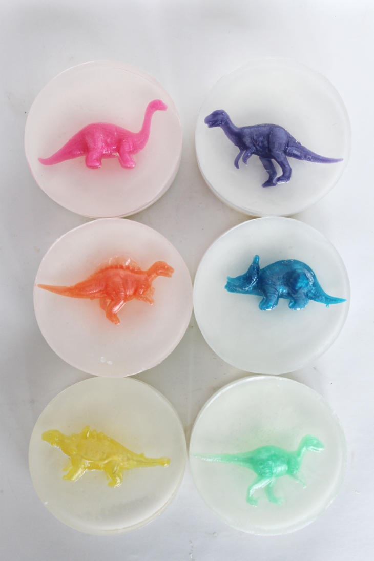 Dinosaur Soap by JupiterArt