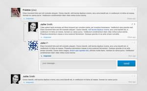 Comment module design by tempeescom