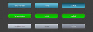 CSS3 buttons by tempeescom