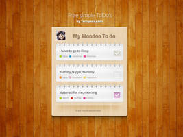 Free ToDo's block for download by tempeescom