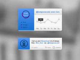 FREE Custom tweet blocks by tempeescom