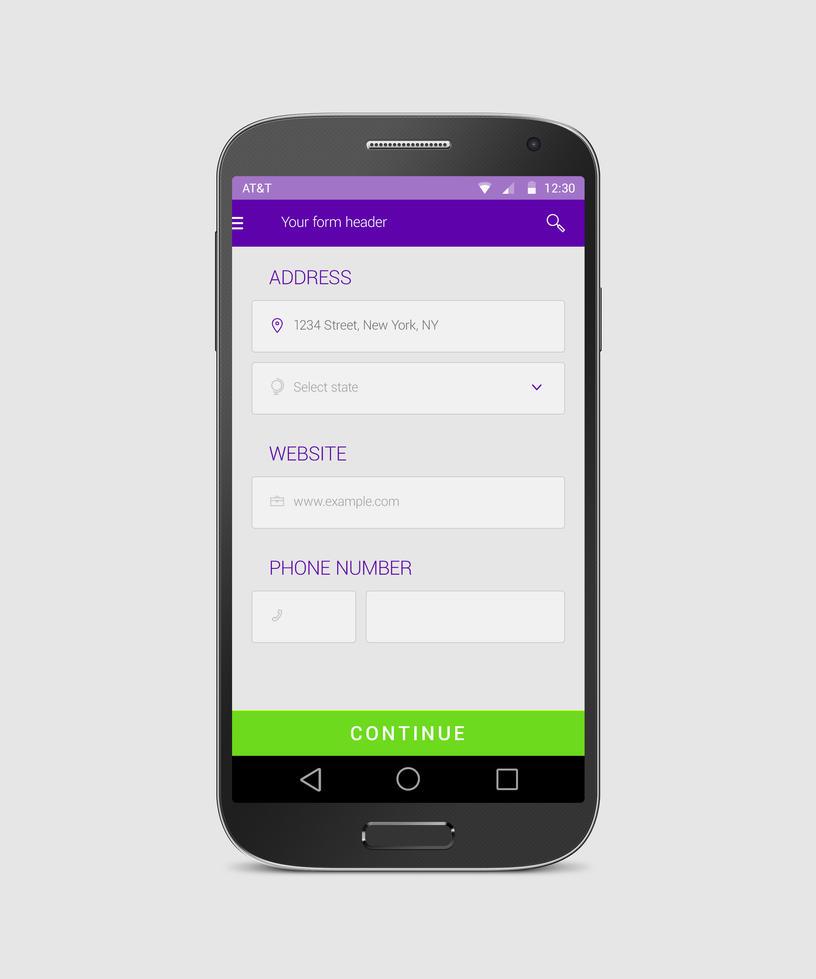 Android form free app design by tempeescom on deviantart for App design online