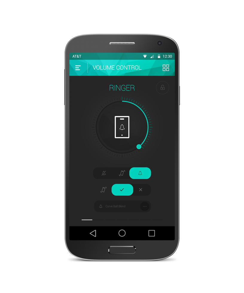 Android Volume Control App by tempeescom