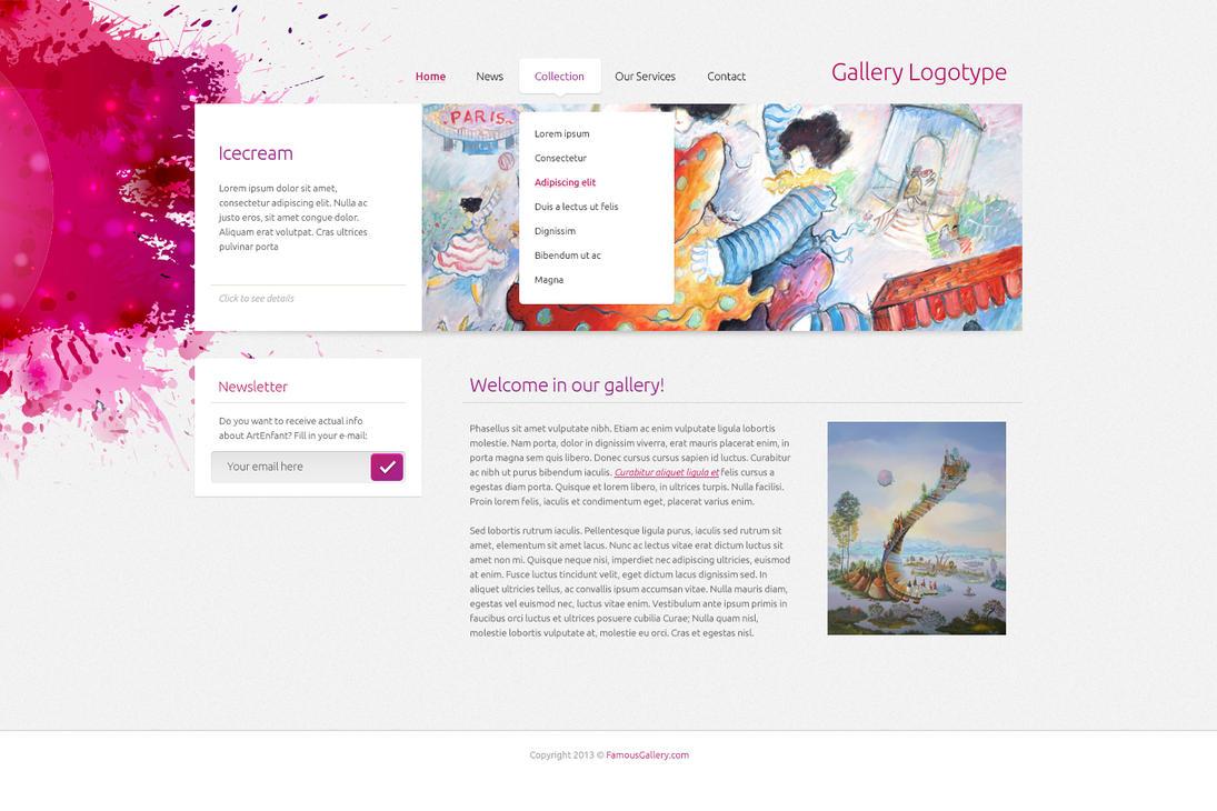 Web Artgallery by tempeescom