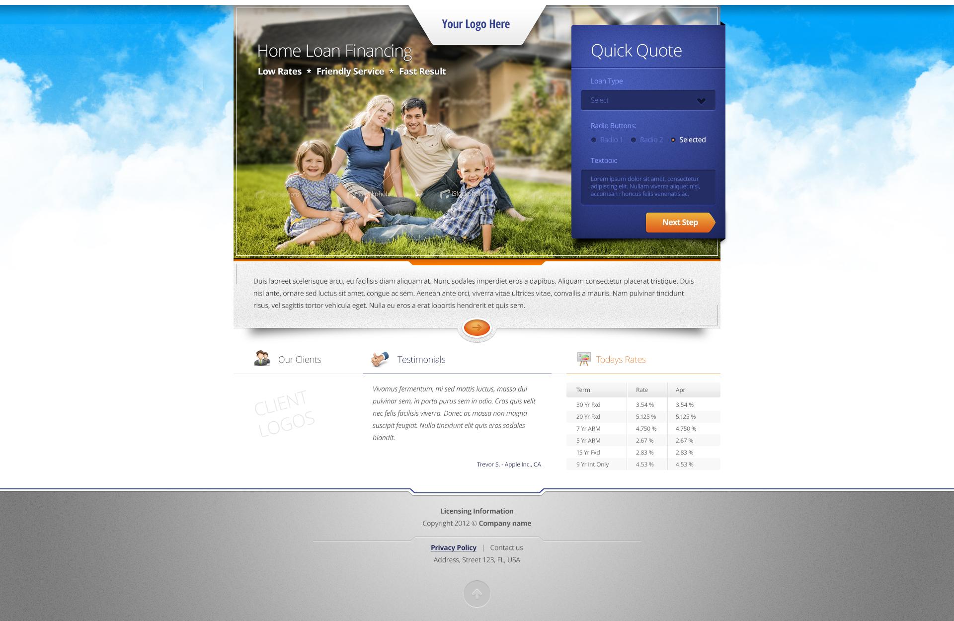 Loan Website by tempeescom
