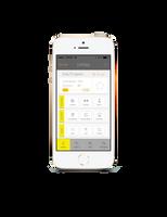 App Diet Home mobile app design