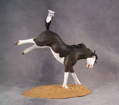 Splash white mustang mare