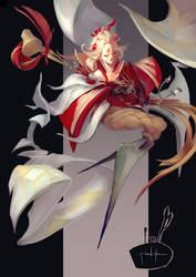 Kosode no te - Onmyoji Contest 2018 entry