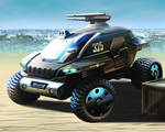Corporation City Offroad Truck by m-a-p-c