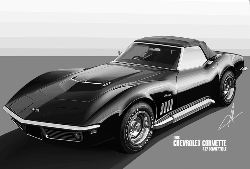 Corvette Stingray 1969 >> 1968 Chevrolet Corvette 427 by m-a-p-c on DeviantArt