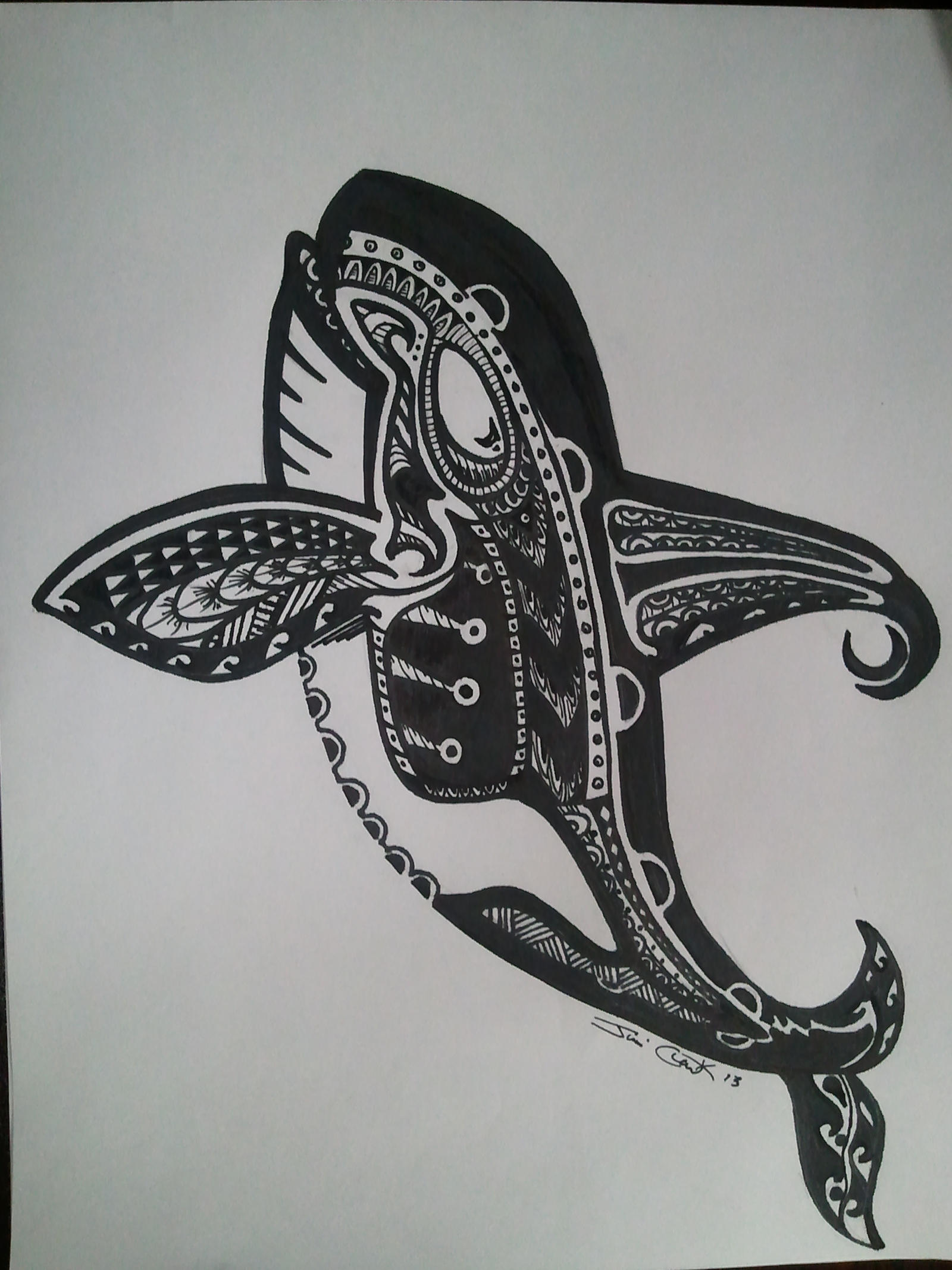 Polynesian Design Orca By Scriblunker On DeviantArt