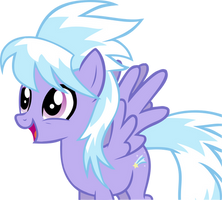 Cloudchaser Vector by LonicHedgehog