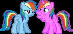 Rainbow Dash and Rainbow Magic Vector - Request