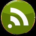 Transparent RSS Dock Icon
