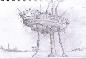 walker sketch by amoebabloke