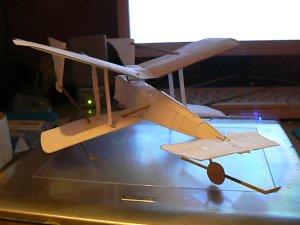 paper x wing prototype by amoebabloke