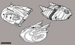 space toys that never existed by amoebabloke