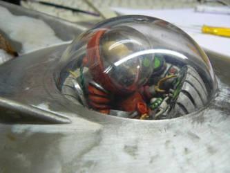 zombie space pilot wip by amoebabloke