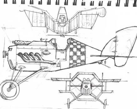 tie sketch by amoebabloke