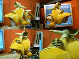space scooter by amoebabloke