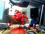 space scoot work in progress by amoebabloke