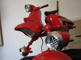 space lambretta in progress by amoebabloke