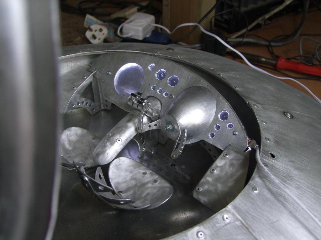Saucer work in progress 1 by amoebabloke