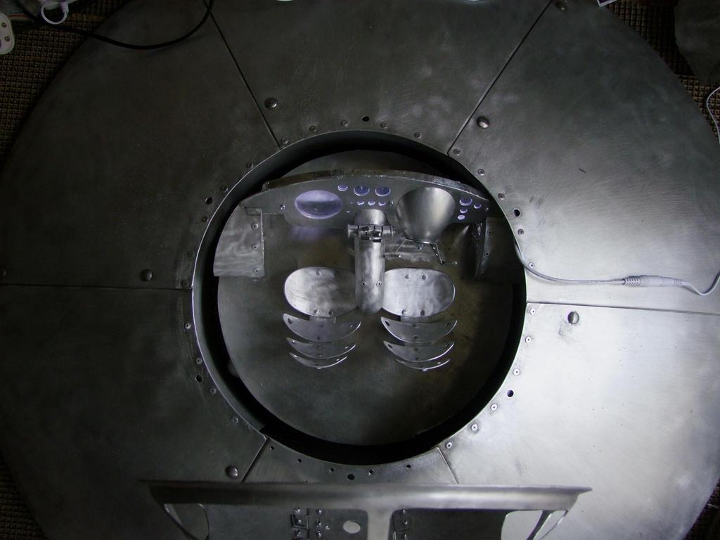 Saucer Top work in progress by amoebabloke
